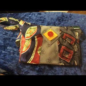 Tie Art Custom Loop Handbag UNIQUE Collectible